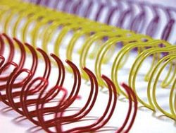 Binding Wire 16.0mm Silver 2:1 Pitch