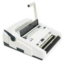 JASTEK 2500CWe Electric Comb  and Wire Combination Binder. 2 Machines in 1