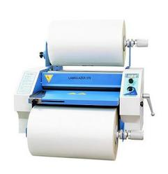 Lamiglazer 370 heated roller machine with Silicone Rollers which come with a 12 month warranty and can be re-rubbered.