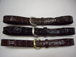 Large size Crocodile belt