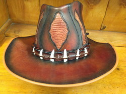Inlaid hat
