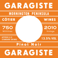 Garagiste 'Red Hill' Pinot Noir 2011