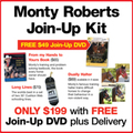 "Monty Roberts Starter Kit - BONUS ""JOIN-UP"" DVD"
