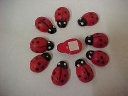 STICK-ON LADYBIRDS-SMALL