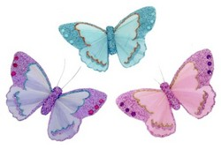 Pastel Feather Butterfly