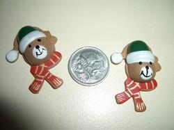 CHRISTMAS BEARS STICK-ONS