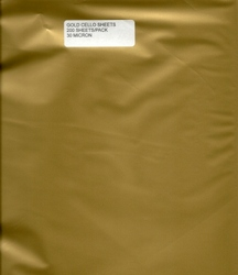 Cello Sheets - GOLD