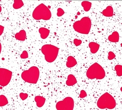 Heart Wrap - Red Hearts