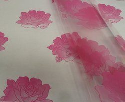 Cellophane - Large Pink Rose Motif