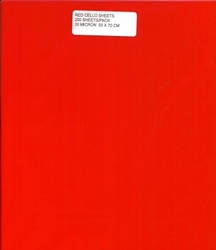 Cello Sheets - RED