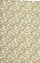 Rose Patterned Wrapping - Gold