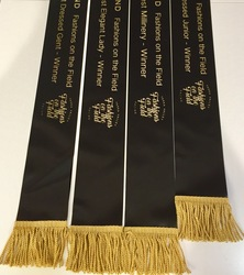 100mm Printed Sash