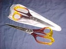 Orange Handled Scissors