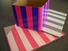 Striped Mini Boxes