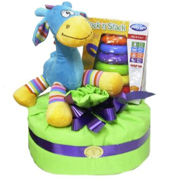 First Toys Nappy Cake