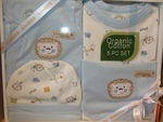 Organic Clothing Set Blue