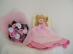 Baby socks Posy and Blankie Pink