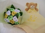 Baby socks Posy and Blankie Yellow