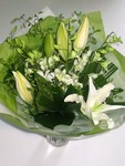 Classic White Bouquet - Flowers Delivered Perth Wide