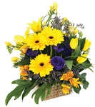 Summer Sunshine Basket Arrangement
