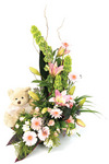 Celebration Arrangement with Soft Toy
