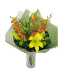 Orchid and Lily Bouquet