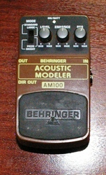 Behringer Acoustic Modeler Pedal