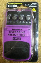 Behringer Overdive Distortion pedal