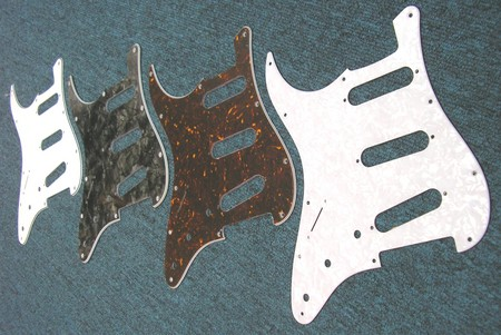 strat style pickguard by carvin parts and accessories guitar parts left handed guitar. Black Bedroom Furniture Sets. Home Design Ideas