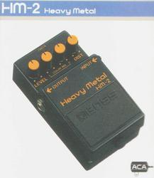 Boss HM2 Heavy Metal Pedal.