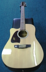 Martinez 12 string Acoustic Electric Guitar