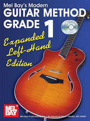 Modern Guitar Method Grade 1, Expanded Edition - Left Hand Book/2-CD Set