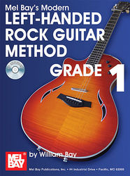 Modern Left Handed Rock Guitar Method Grade 1,   Book/CD Set