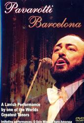 Pavarotti, Barcelona