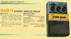 Arion Stereo Analog Delay SAD1