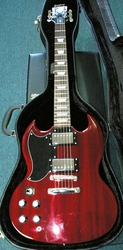 Epiphone G400 and Case