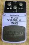 Behringer Blues Overdrive pedal