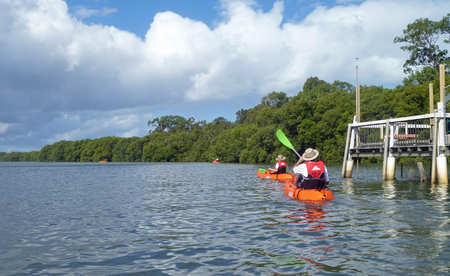 Kayak Tour Bribie Island 24at