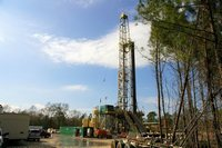 Drilling at Teche Prospect