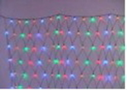 LIGHT NET GLITTER COLOUR LED 120