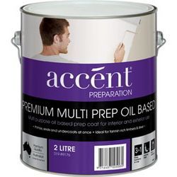 ACCENT MULTI PREP OIL BASED WHITE 2L