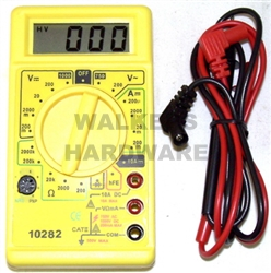 MULTIMETER TESTER DIGITAL 1000V
