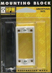 MOUNTING BLOCK 32MM ARCHITRAVE BAGGED