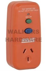 SAFETY SWITCH SINGLE OUTLET ORANGE