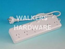 POWERBOARD 6 OUTLET 6 SWITCH #PB66