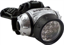 HEADLIGHT WITH STRAP 9 LED MEDALIST