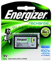 BATTERY RECHARGEABLE 9V ENERGIZER
