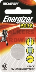 BATTERY ENERGIZER LITH COIN CR2032 3V