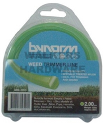 TRIMMER LINE GREEN 2MM X 35M 125G