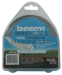 TRIMMER LINE GREY 3MM X 31M